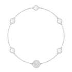 Swarovski Remix Collection, Timeless, White, Rhodium Plated
