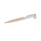 Crystalline Swan Ballpoint Pen, Rose-gold tone plated
