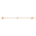 Swarovski Remix Collection, Round Shape, White, Rose Gold Plated