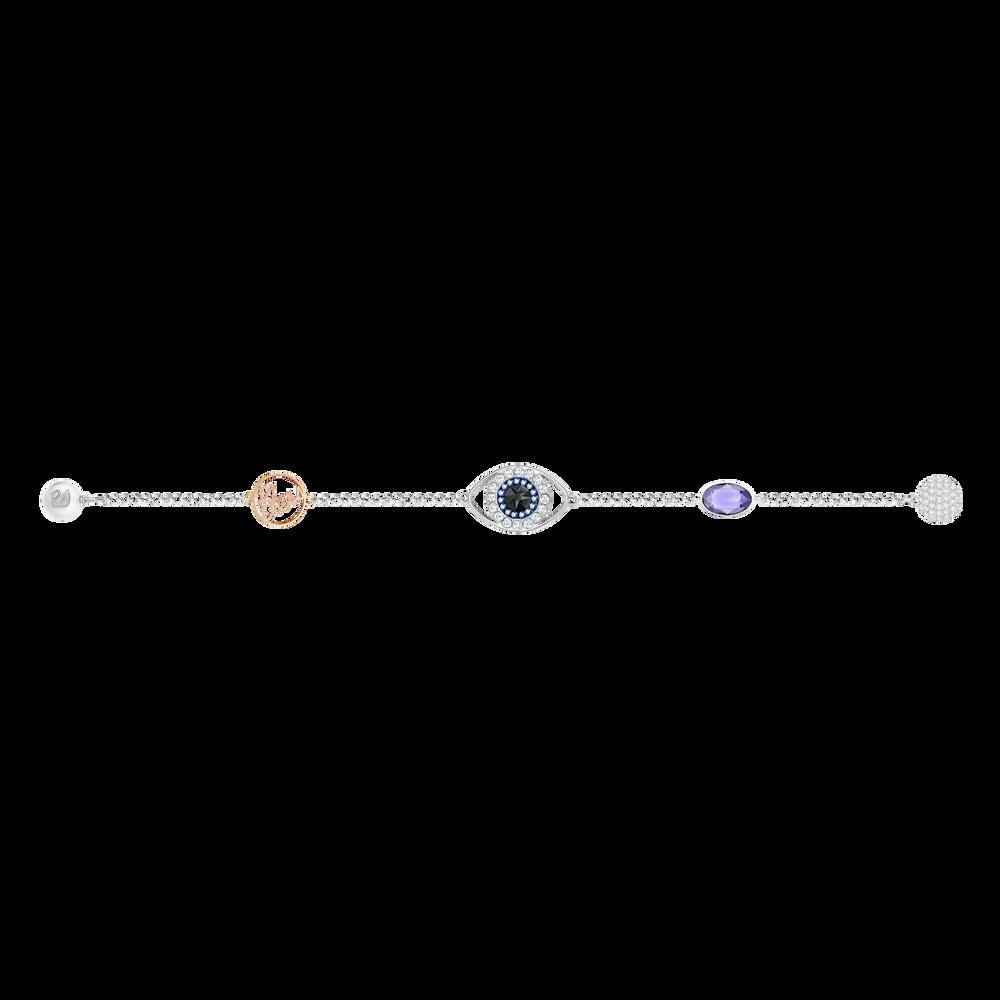 The Swarovski Remix Collection, Eye Symbol, Purple, Mixed Plated