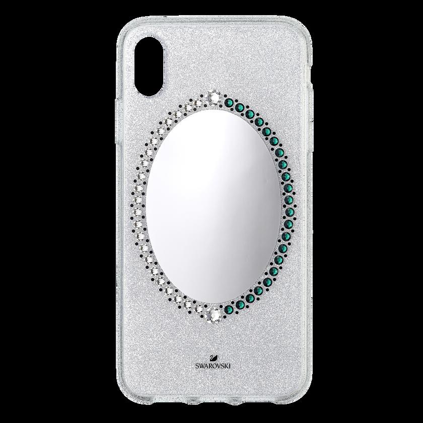 Black Baroque Smartphone Case, iPhone® XS Max, Gray