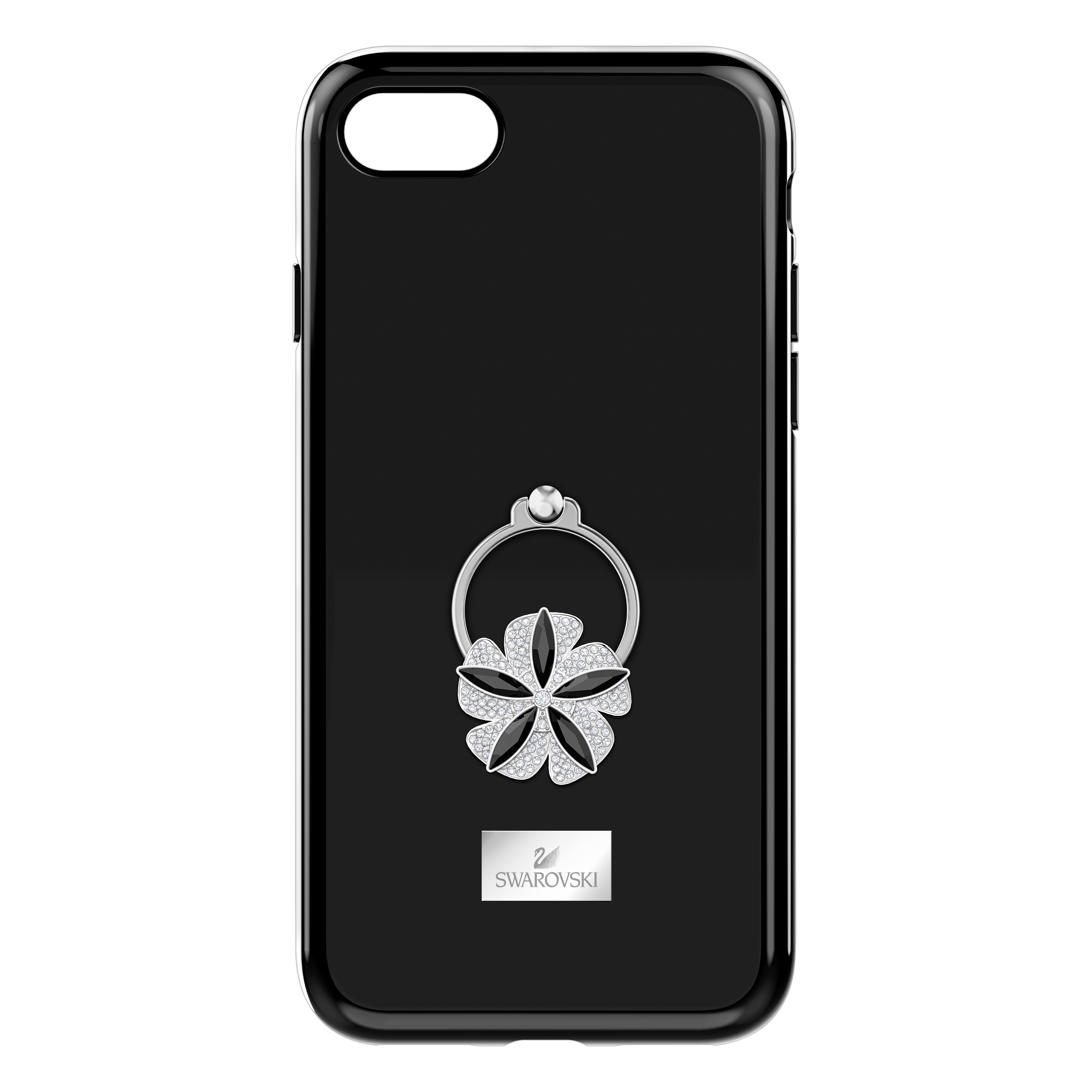 Mazy ring Smartphone Case with integrated Bumper, iPhone® 8, Black