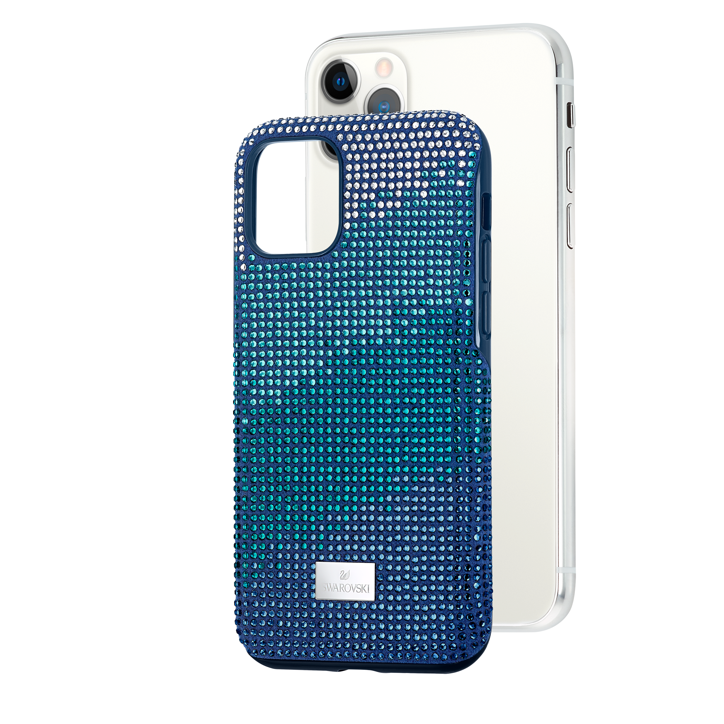 Crystalgram Smartphone Case with Bumper, iPhone® 11 Pro, Blue