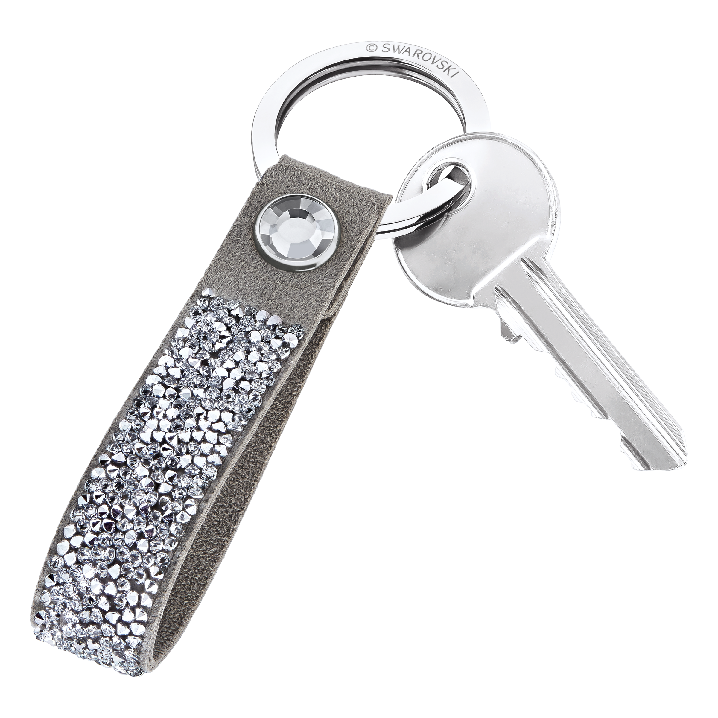 Glam Rock Key Ring, Grey