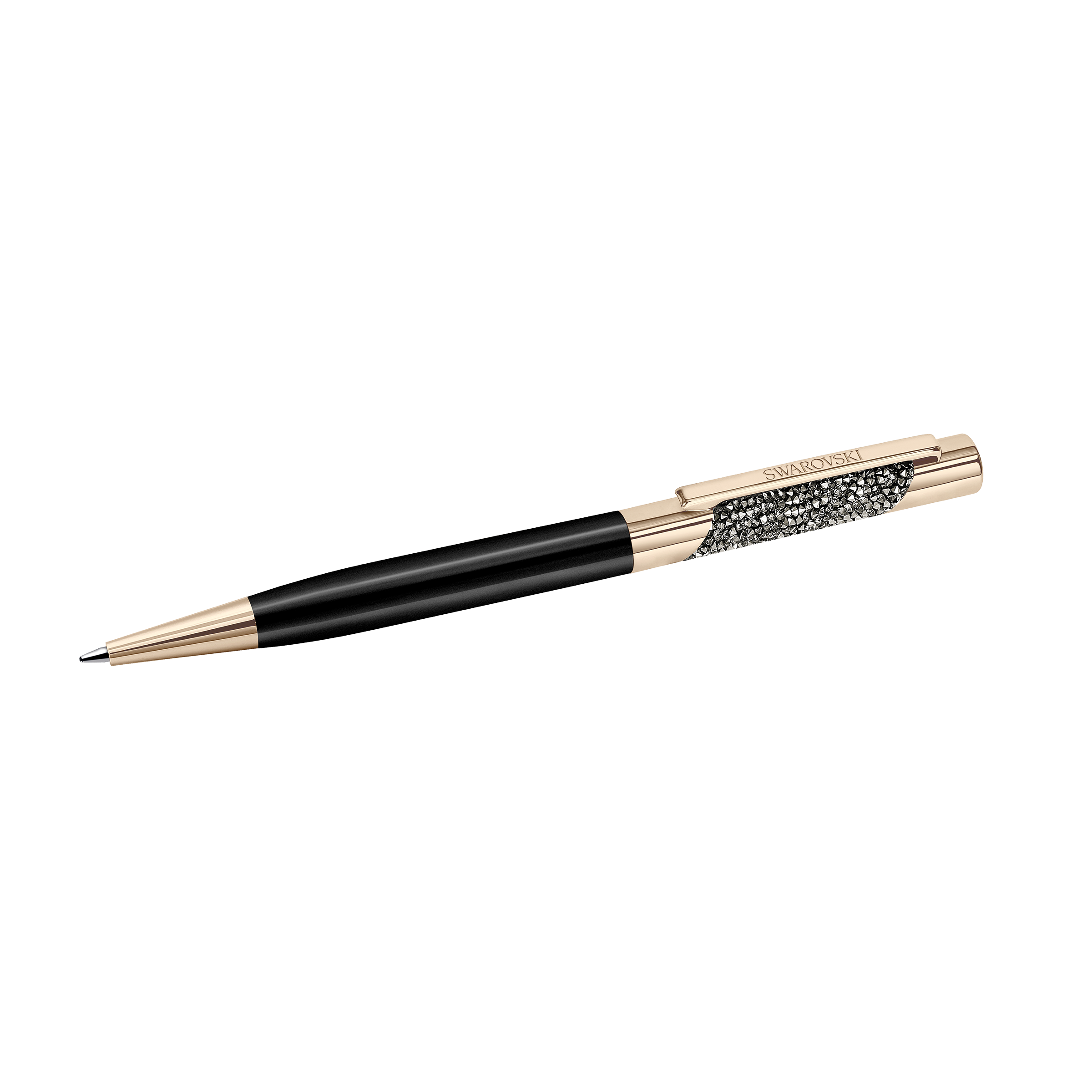 Eclipse Ballpoint Pen - Rose Gold Plated, Black