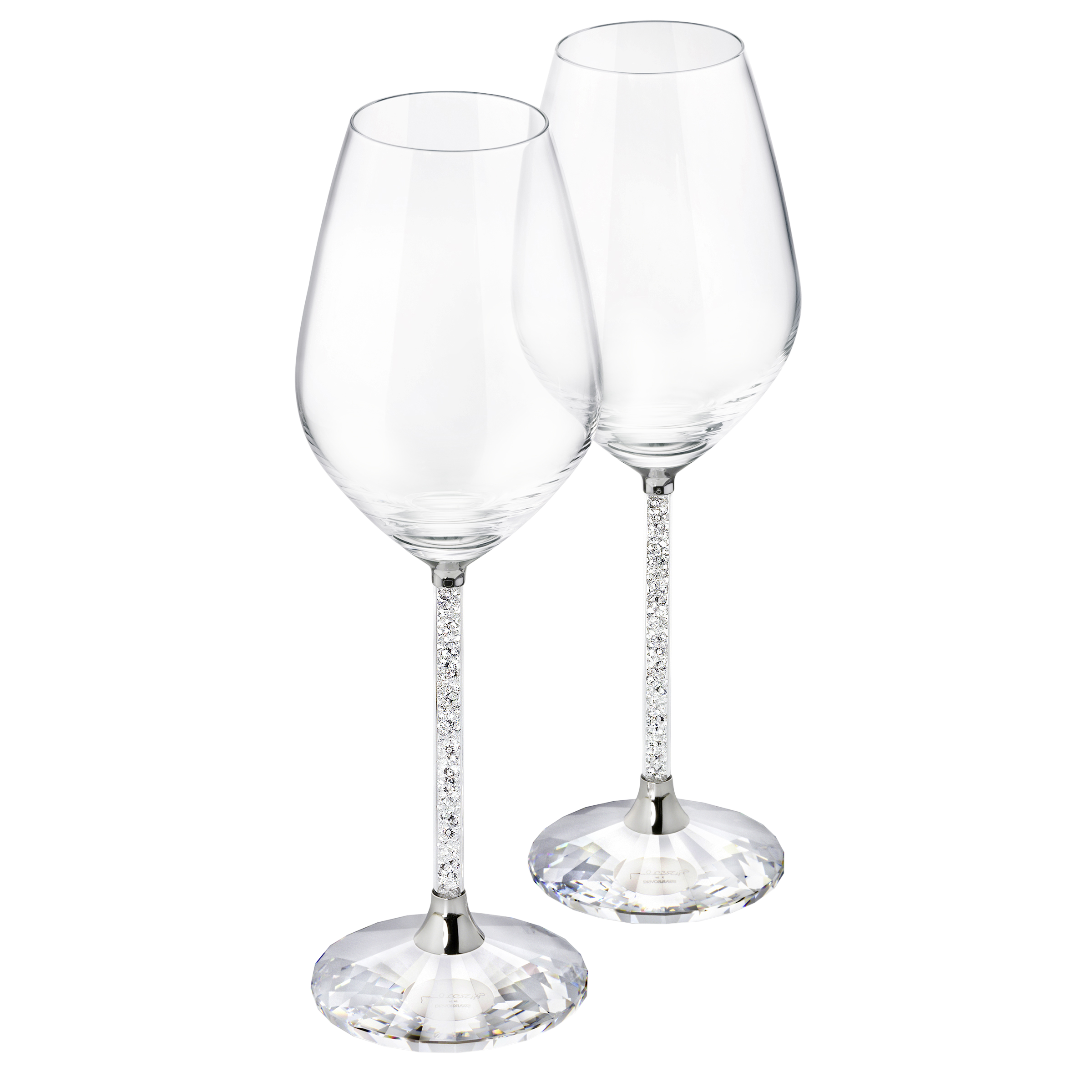 Crystalline Red Wine Glasses (Set Of 2)