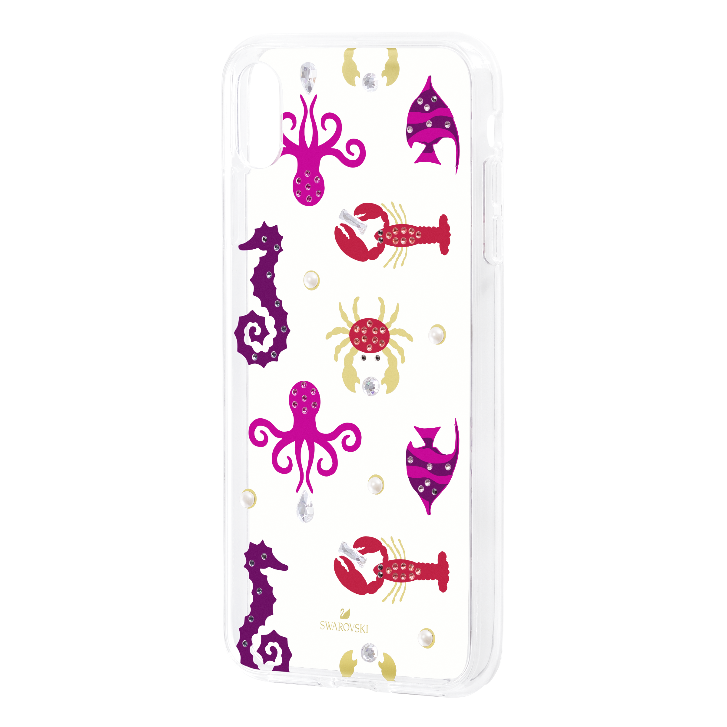 Sea Life Smartphone case with integrated Bumper, iPhone® XR, Transparent
