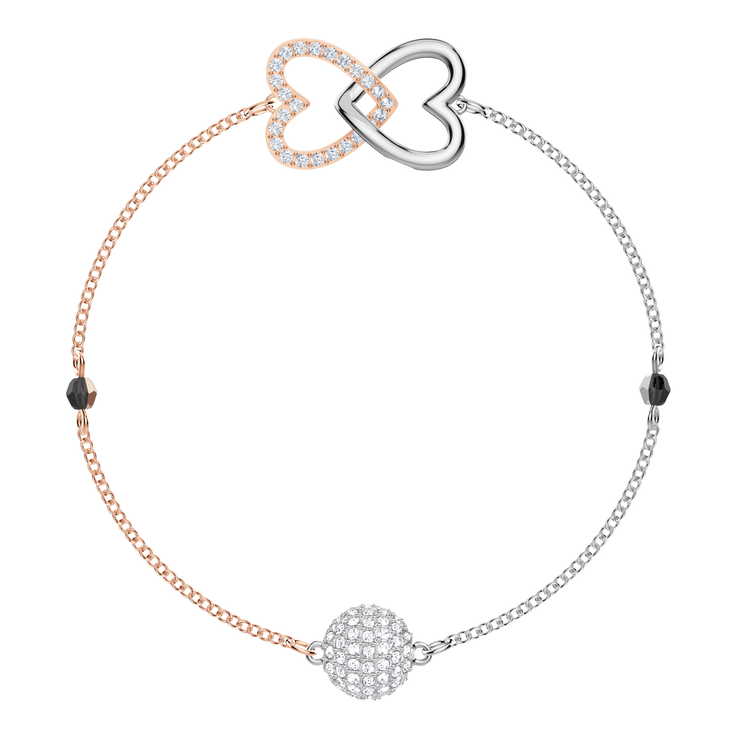 The Swarovski Remix Collection Forever, White, Mixed Plating