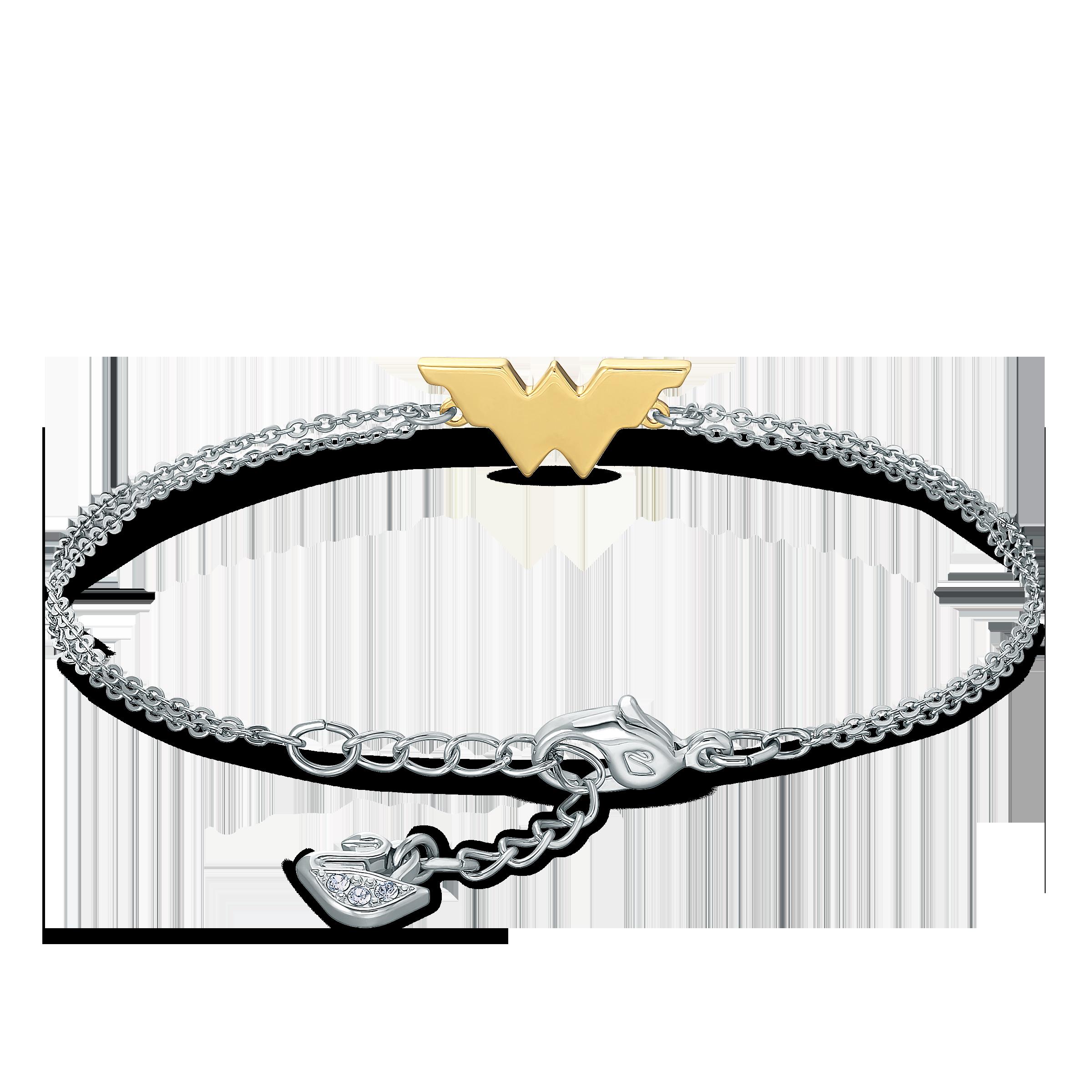Fit Wonder Woman Bracelet, Gold tone, Mixed metal finish