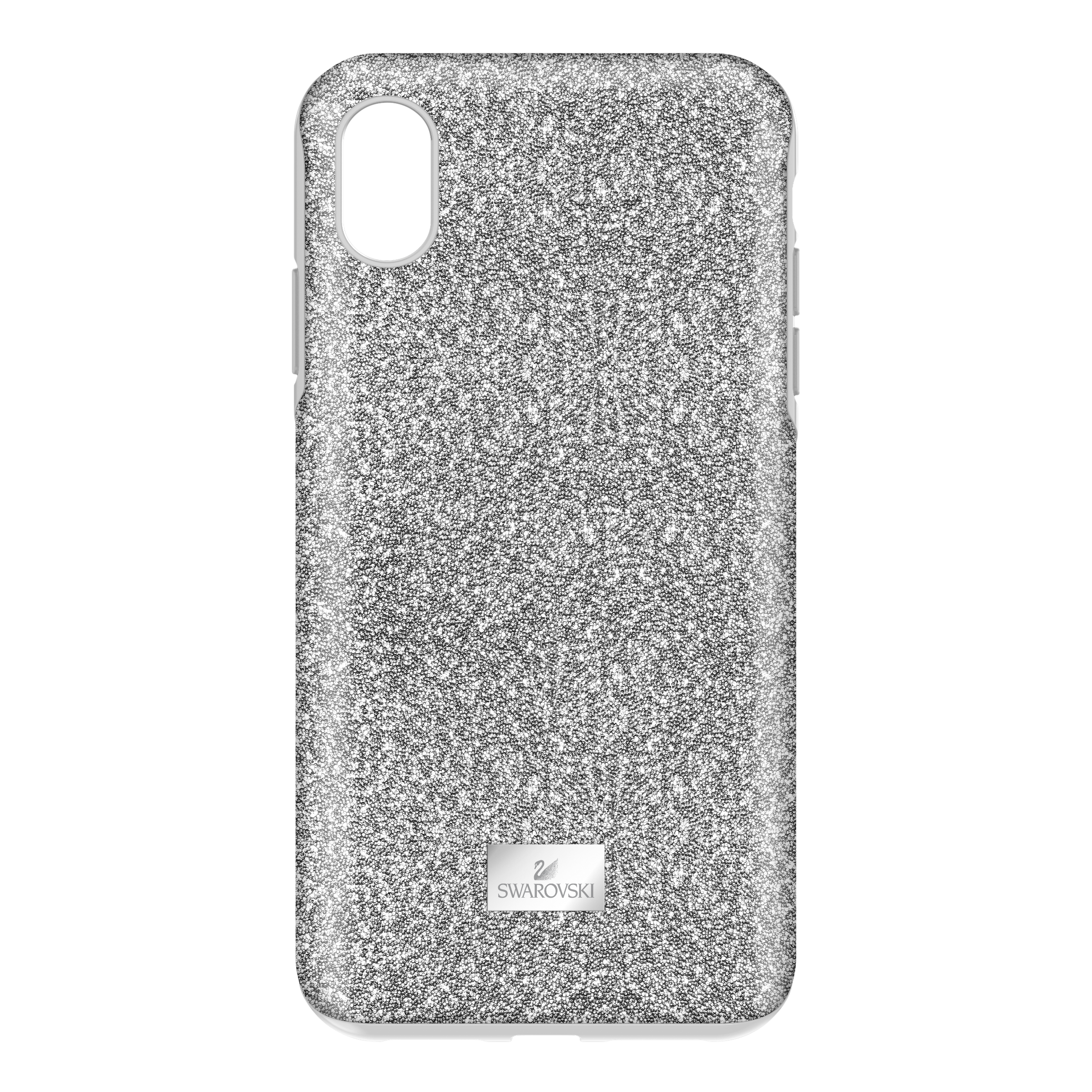 High Smartphone Case with Bumper, iPhone® XR, Silver tone