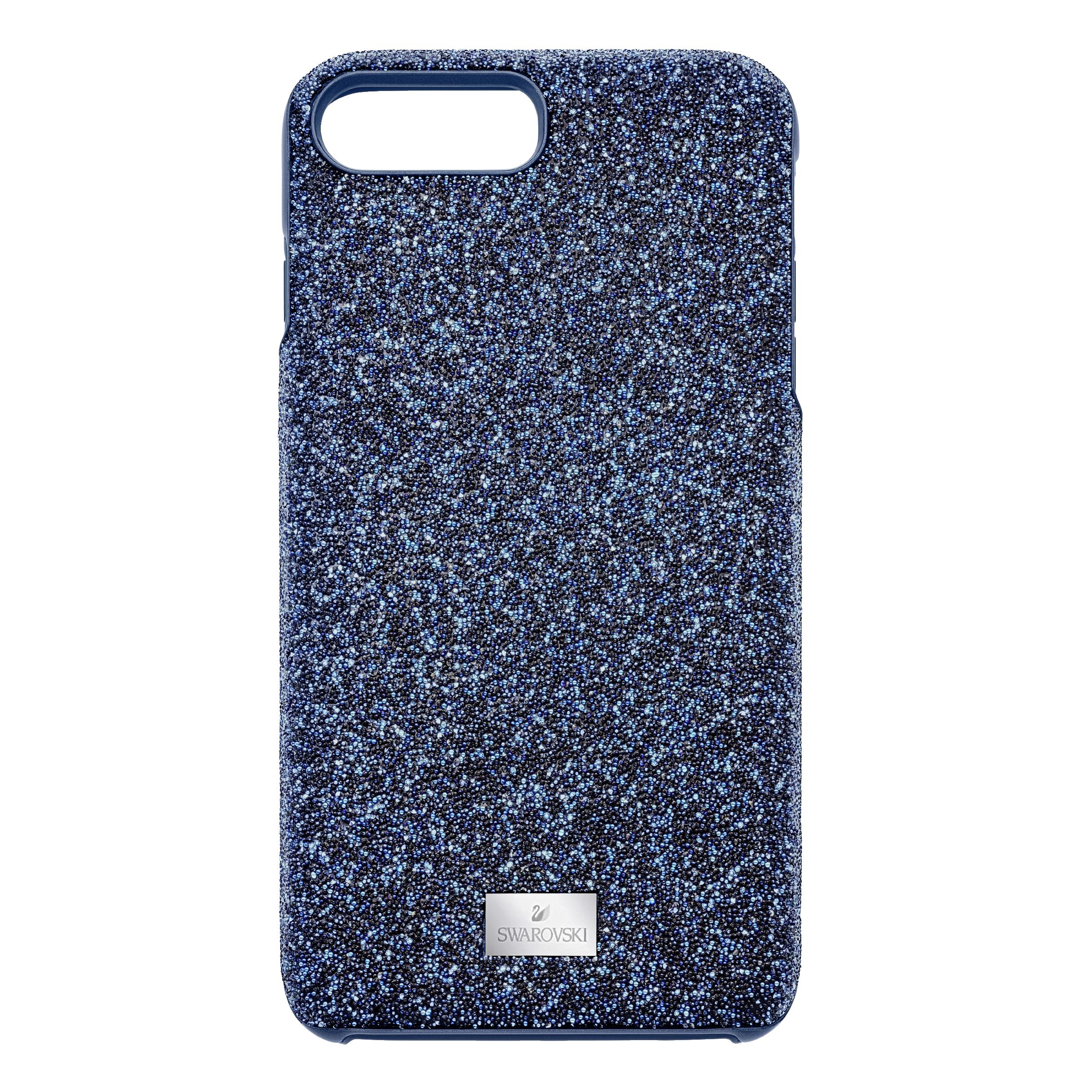 High Smartphone Case with Bumper, iPhone® 8 Plus, Blue