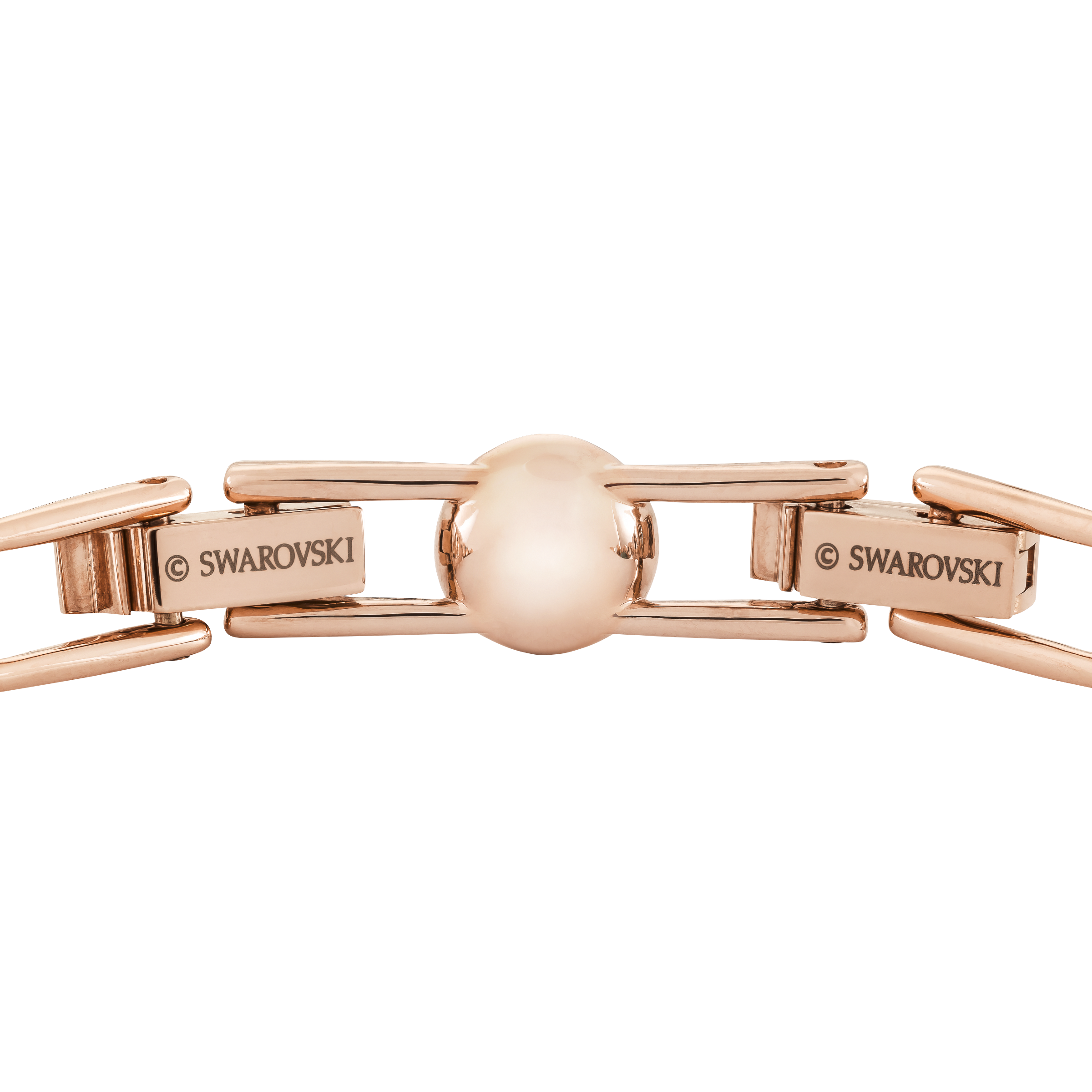 Angelic Bracelet, White, Rose Gold Plated