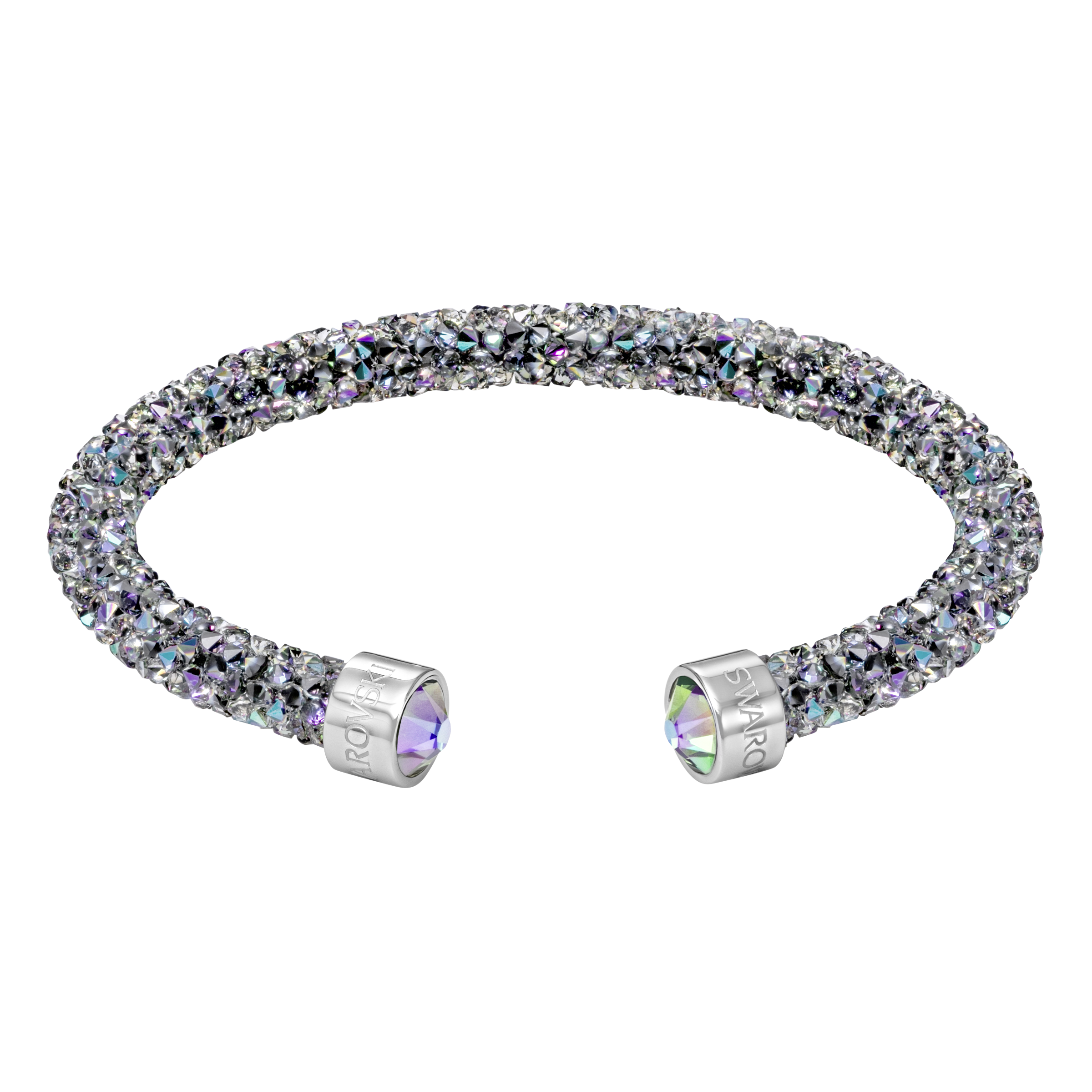 Crystaldust Cuff, Multi-colored, Stainless steel