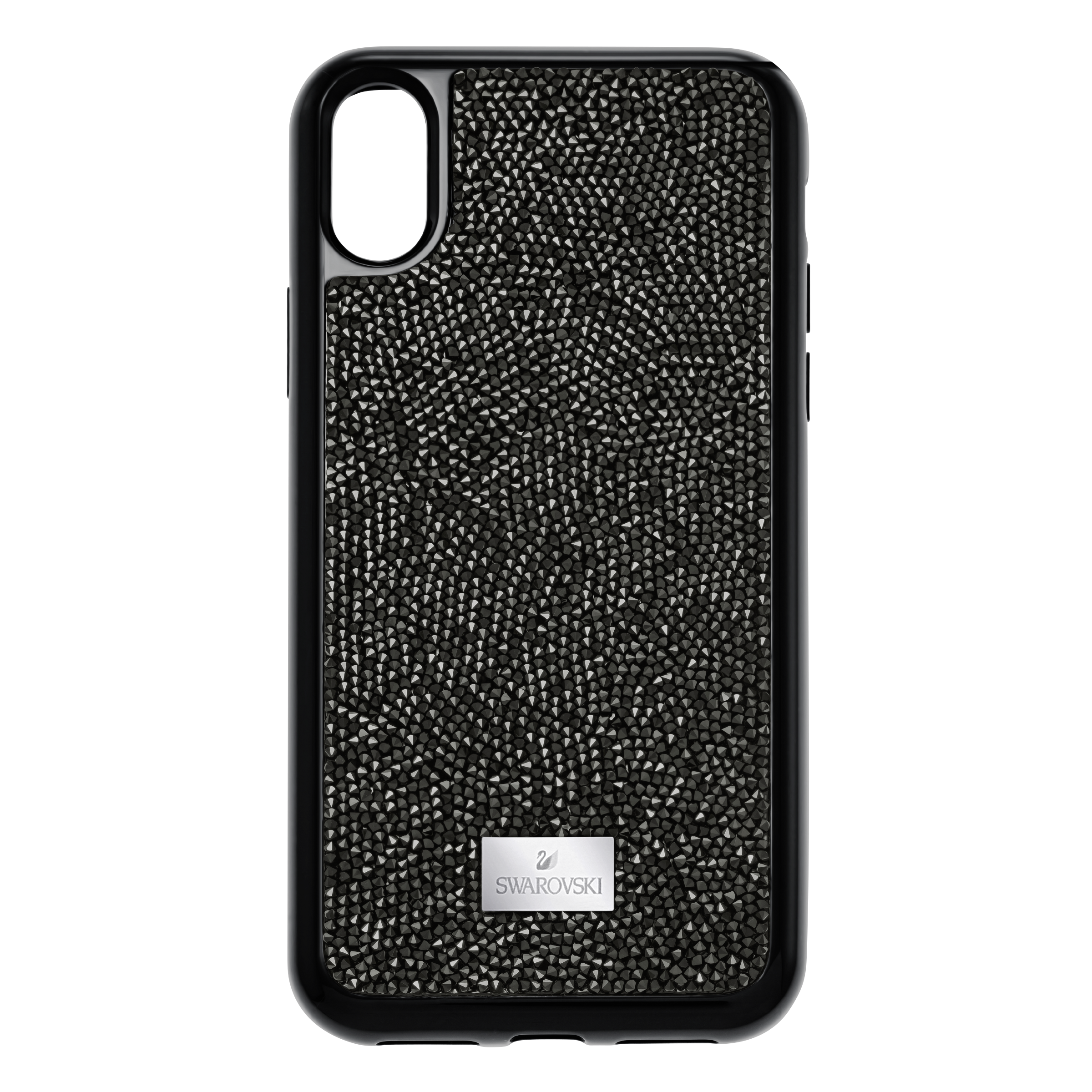 Glam Rock Smartphone Case with integrated Bumper, iPhone® X/XS, Black