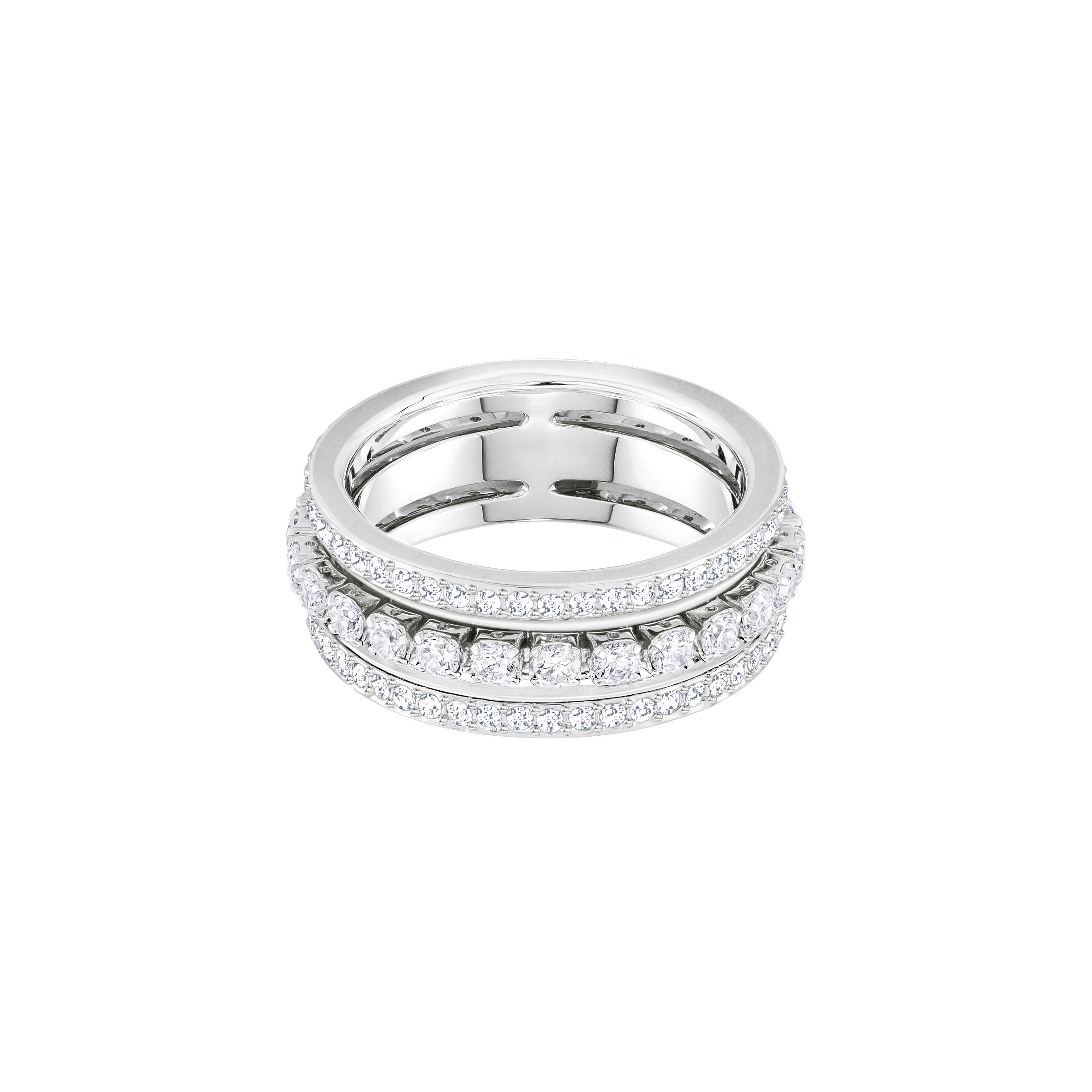 Further Ring, White, Rhodium Plating